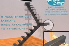 Single Stringer L-Shape Attachment Detail