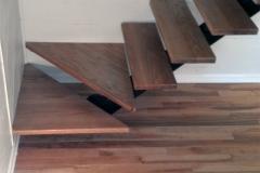 Single Stringer Winder Staircase