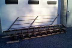 Tri-Frame Staircase Ready for Pickup
