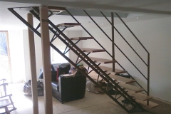 Tri-Frame Staircase After Installation