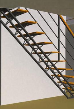 Tri-Frame Staircase Rendering