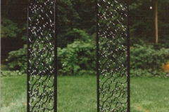 Wrought Iron Decorative Garden Arbor
