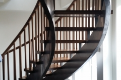 custom curved staircase