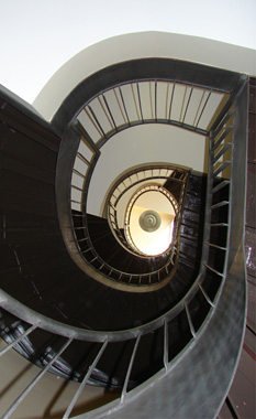 Curved Pan Staircase