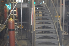 Curved Stairs Fabrication
