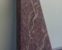 granite powder coat finish on stairs