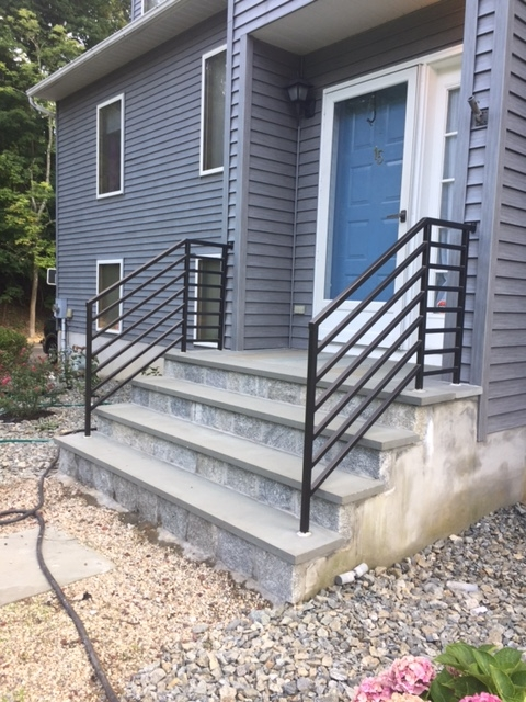 Wrought Iron Rails and Stainless Steel Railings | Acadia ...