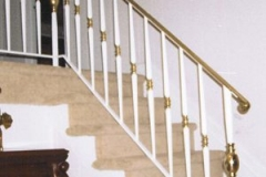 traditional wrought iron railing