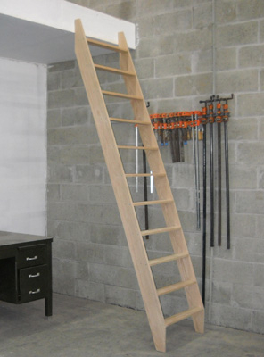 Custom Plain Oak Ladder - SL02