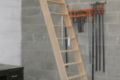 Custom Plain Oak Ladder