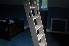 Hand Holds on Ship Ladder