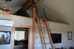Straight Loft Stairs