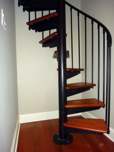 Spiral Staircase Open Riser Stairs In Ct And Nyc Acadia