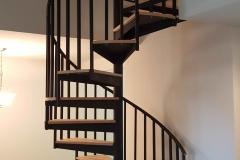 spiral staircase interior