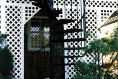 Exterior Spiral Staircase - SPS06