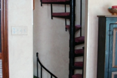 Adjustable Carpet Treads Spiral Staircase - SPS08