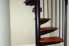 Spiral Staircase After Installation - SPS09