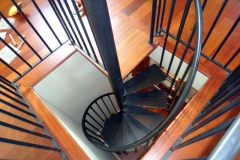 Installation of a Spiral Staircase - SPS11