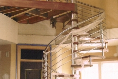 Stainless Steel Spiral Staircase - SPS17
