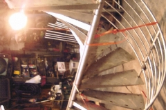 Stainless Steel Spiral Staircase in Shop - SPS20