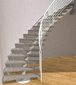 Contemporary Steel Staircase Designs