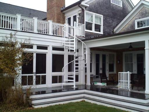 Outdoor Spiral Stairs & Exterior Staircases in CT & NYC | Acadia ...