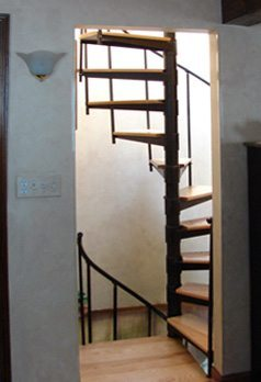 Ready-to-Go Spiral Stairs