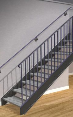 The Term U0027Pan Stairu0027 Is Used When A Staircase Has Treads That Are Like A  Pan Or Dish That Will Receive Cement Fill. We Also Use This Term To  Describe Stairs ...