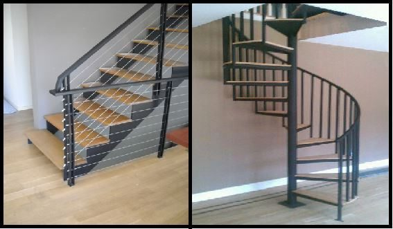 Straight Or Spiral Staircase? | Acadia Stairs