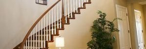 How A Custom Designed Curved Staircase Can Create A Great Solution For The Modern Home