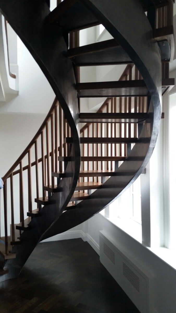 Spiral staircases custom staircase design in nyc ct for Custom staircase design