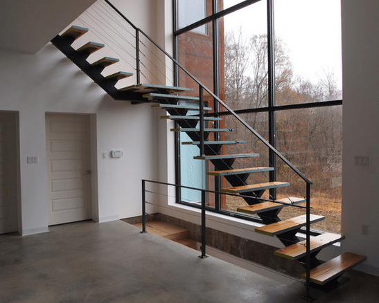 Good Single Stringer Staircase