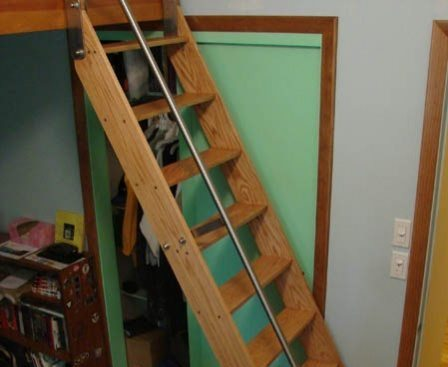 Acadia Stairs Tiny House Ships Ladder