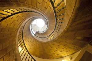 A Brief History of Spiral Stairs