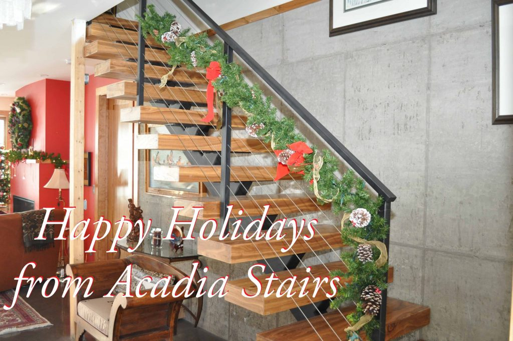 How to Decorate Your Staircase for the Holidays