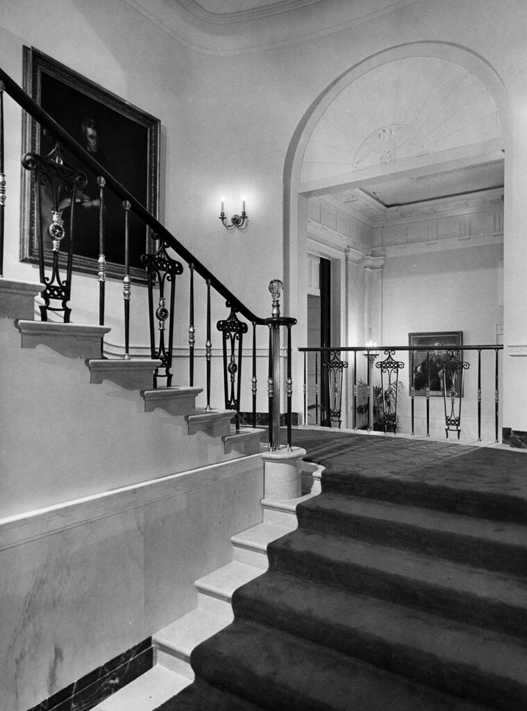 The Grand Staircase of the White House